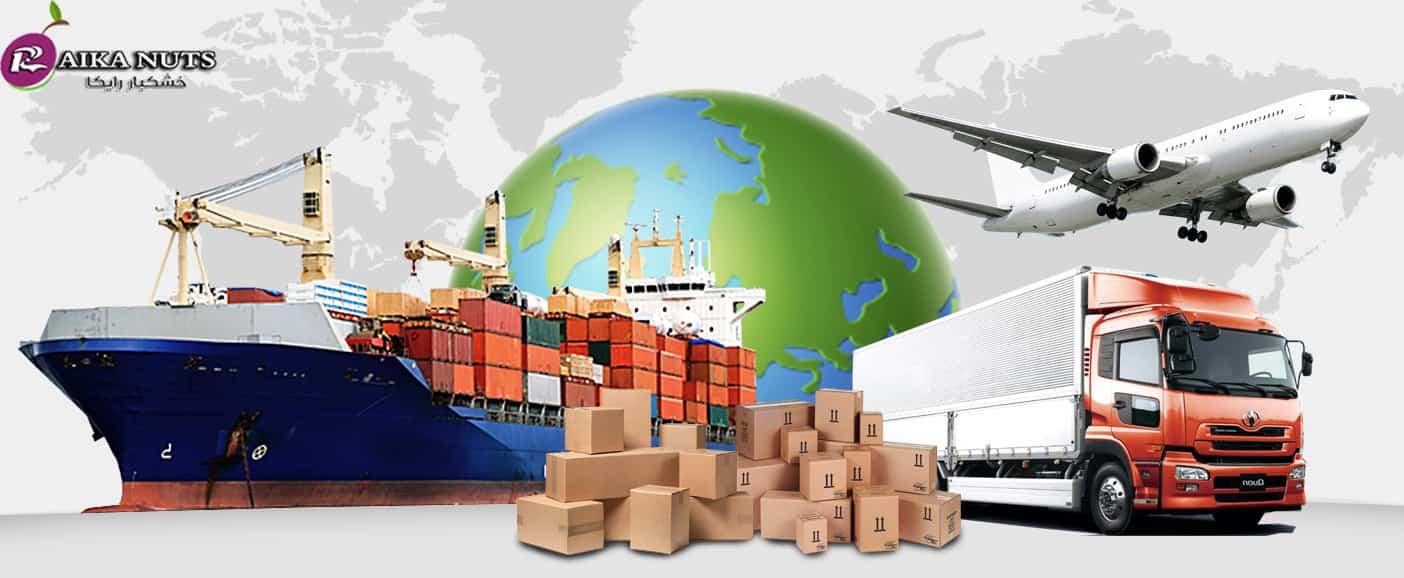صادرات آلو خشک